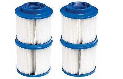 4 x Hot Tub Filters Screw on Threaded Filter Fits Most Hot Tubs Jacuzzi Spa