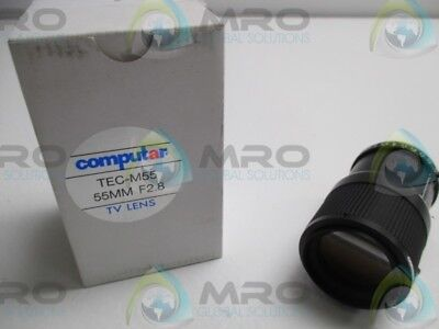 COMPUTAR TEC-M55 TV LENS 55mm F2.8 * NEW IN BOX *