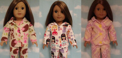 "Pajamas Doll Clothes for 18"" American Girl doll 421abc"