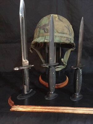 Custom Bayonet Stand - Bayonet Display Stand for Three (3) Bayonets