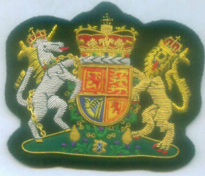 Royal Scottish Scotland Lion King Family Clan Crest COA Heraldry Arms UK Patch S