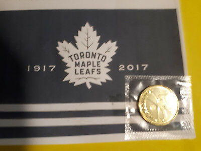 2017 Toronto Maple Leafs 100th Anniversary Dollar Uncirc, sealed NO TAX & SALE