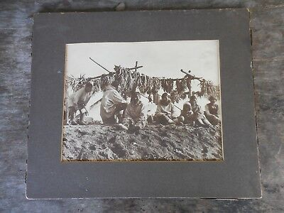 "Antique Signed Dobbs Alaska Native American Inuit ""Eskimo Kow Kow"" Photo"