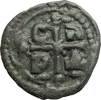 JESUS CHRIST 1068AD Ancient Medieval Byzantine Christian Coin Romanus IV i74218