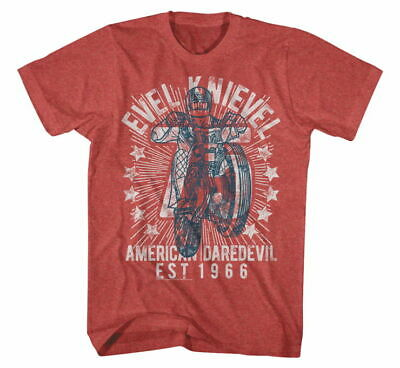 EVEL Men's Seventy Five Tee S Red EK5114-SM