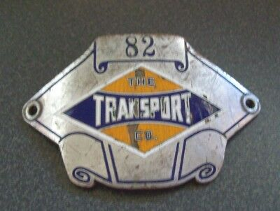 Tmer&l Rwy - The Milwaukee Transport Co. Driver Hat Badge #82