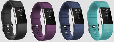 Fitbit Charge 2 HR Heart Rate Monitor Fitness Wristband Tracker - ALL COLORS