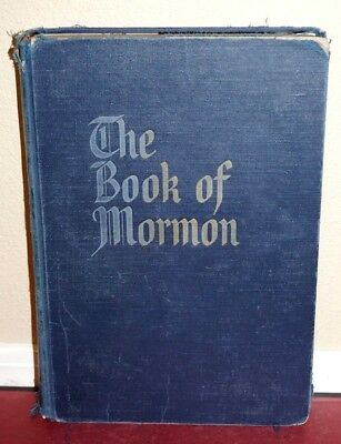 LDS Giant Large Print Book of Mormon, Reference Edition with Art Masterpieces HB