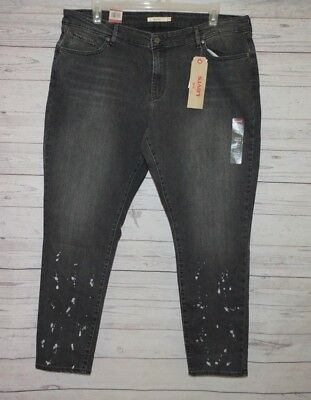 Levi's 711  Women's Plus Skinny Denim Jeans Size 22W M