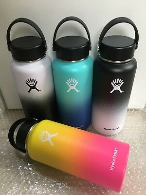 18/32/40oz Hydro Flask Insulated StainlessSteel WideMouth Water Bottle W/FlexCap