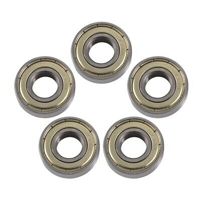 5x 6001zz Metal Shielded Deep Groove Ball Bearing 12x28x8mm High Quality BI1161