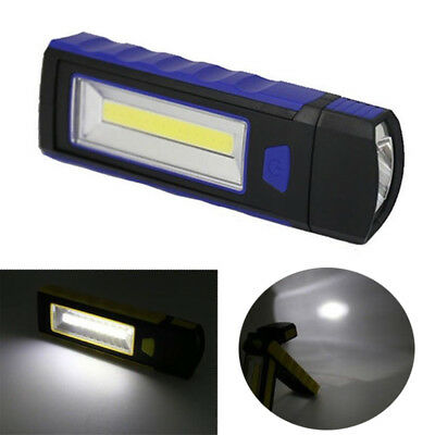 COB LED Work Light Flexible Inspection Lamp Hand Torch Magnetic Camping Lantern
