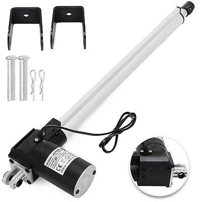 DC 24V Linear Actuator 1320LB/6000N 400mm for Auto Car Lift Heavy Duty Medical