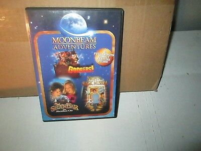 LOT OF 3 MOONBEAM FAMILY dvds rare dvd Set MOONBEAM / SHANDAR / NIGHT AT MAGIC