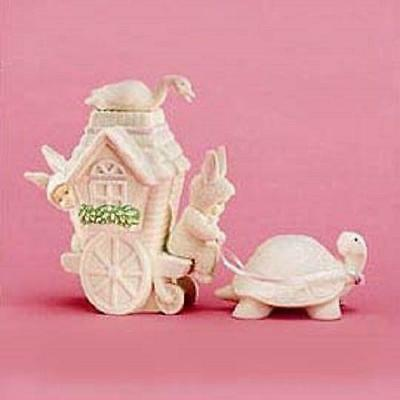 Dept 56 Snowbunnies Slow Moving Vehicle Turtle 26280 ~ NEW!