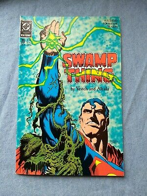 Swamp Thing 79 Vf 1988 Veitch/alcala Superman 'waiting'  +Halloween Sale+