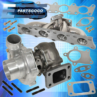 1.8T Audi Stainless Steel Exhaust Manifold .50Ar T3 T4 Turbo Charger Turbine