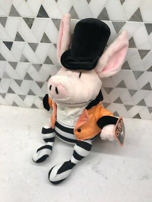 "Madame Alexander Olivia the Pig Plush Circus Ringmaster 14"" Stuffed Animal"