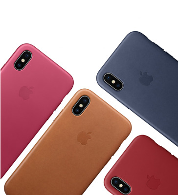 Original Leather Case OEM Leather Phone Cover for Apple iPhone X XS Max XR 7 8 6