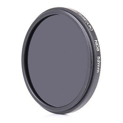 52mm Neutral Density ND8 Filter for Canon Nikon Sony Fujifilm Canon 52mm Lens