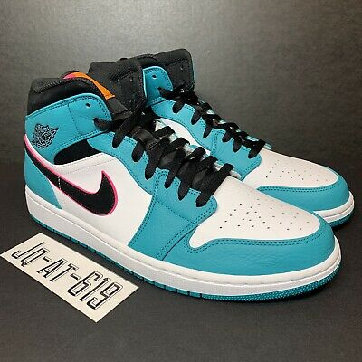 eba074b5f05d7d NIKE AIR JORDAN Retro I 1 Mid SE South Beach Turbo Green Hyper Pink ...