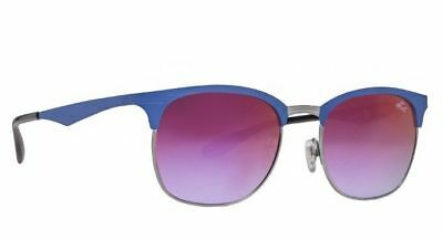 b657abc69f4 NEW Ray-Ban RB3538 9005 A9 53mm Blue Silver Violet Gradient Sunglasses