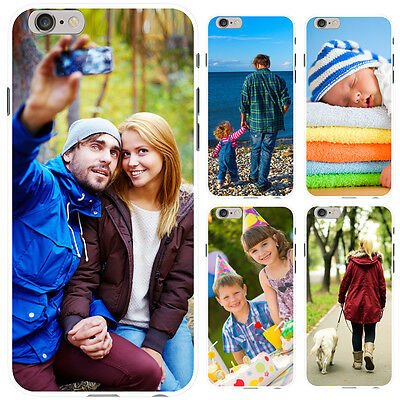 Personalised Photo Iphone Case I Phone 6, 7, 8 Plus, X Case Soft Cover For Apple