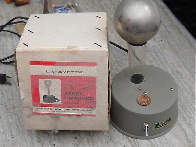 VERY Rare Lafayette Atom Smasher 1960's High Voltage Toy & Box