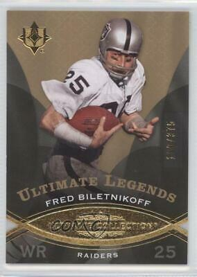 2009 Upper Deck Ultimate Collection/375 #104 Fred Biletnikoff Oakland Raiders