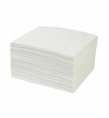 Portwest Premium Oil Absorbent Pads Fuel Soak Spill Protection (Pack Of 200)SM50
