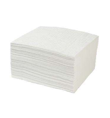 Portwest Premium Oil Absorbent Pads Oil Fuel Soak Spill Protection (Pack Of 200)