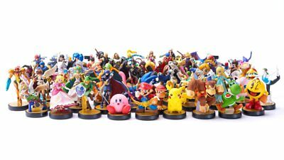 🔴 Lot 65 Cartes Amiibo Super Smash Bros Ultimate - Switch 🔴