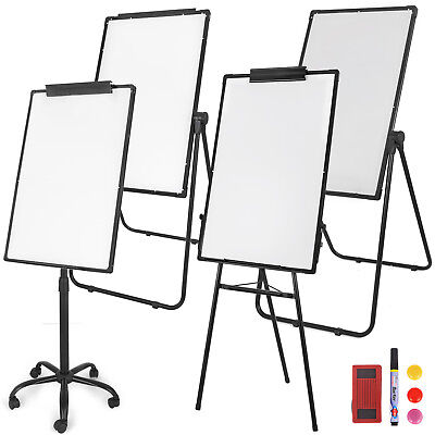 Magnetic Whiteboard Dry Erase Tripod U Stand Mobile Double/Single Side For Kids