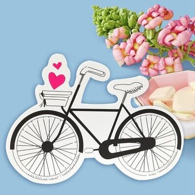 10x Paper Bike Shaped Candy Box Wedding Kids Boys Girls Gift Birthday Party Prop