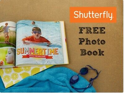 Shutterfly 8X8 Hard Cover Photo Book Code exp 2/28/19 starts with ST5T