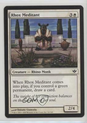 Rhox Bodyguard FOIL Conflux NM White Green Common MAGIC MTG CARD ABUGames