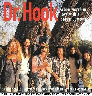 Dr Hook - A Very Best Greatest Hits Collection - RARE 70's Country Rock CD