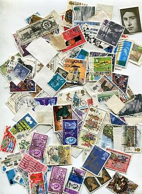 Lot  2  of    Used British stamps 18 gm