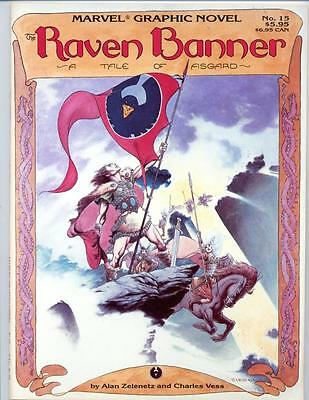 Marvel Graphic Novel #15    The Raven Banner: A Tale of Asgard    1985