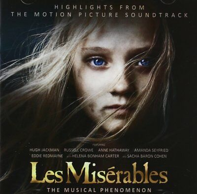 Les Miserables Highlights From The Motion Picture Soundtrack CD 2013 New