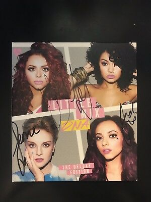 Little Mix DNA Deluxe Edition Autographed Signed CD