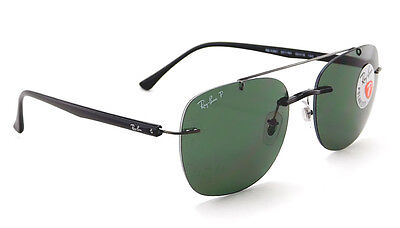 ef38d519d87 RAY-BAN RB4280 SUNGLASSES (Black Polarized Green Classic G-15 ...