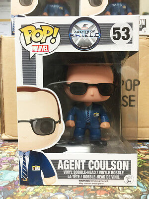 Funko Pop Marvel Agents of SHIELD Agent Coulson #53 Vaulted Mint