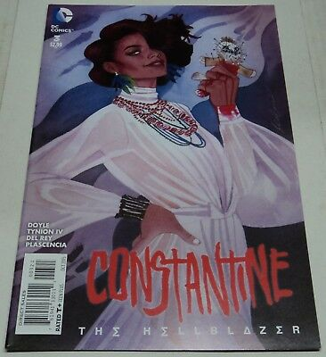 CONSTANTINE THE HELLBLAZER #3 RARE VARIANT COVER (DC Comics 2015) (FN/VF)