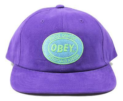 OBEY MENS PRISON Union Trucker Snapback Hat Yellow Size One Size New ... db3041572c87