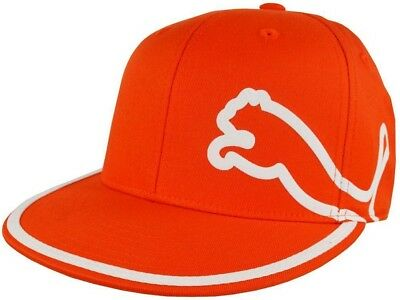adf70637523 ... discount puma monoline signature orange golf cap hat flat bill fitted  rickie fowler new 5edf2 dd3a1