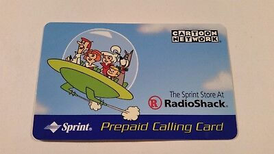 Cartoon Network Jetsons Collectible Phone Card