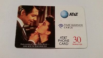 Gone With The Wind Movie Collectible Phone Card