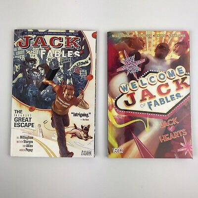 Jack of Fables Vertigo Collection Lot Vol. 1 & 2 Willingham
