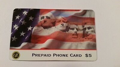 Mount Rushmore Collectible Phone Card
